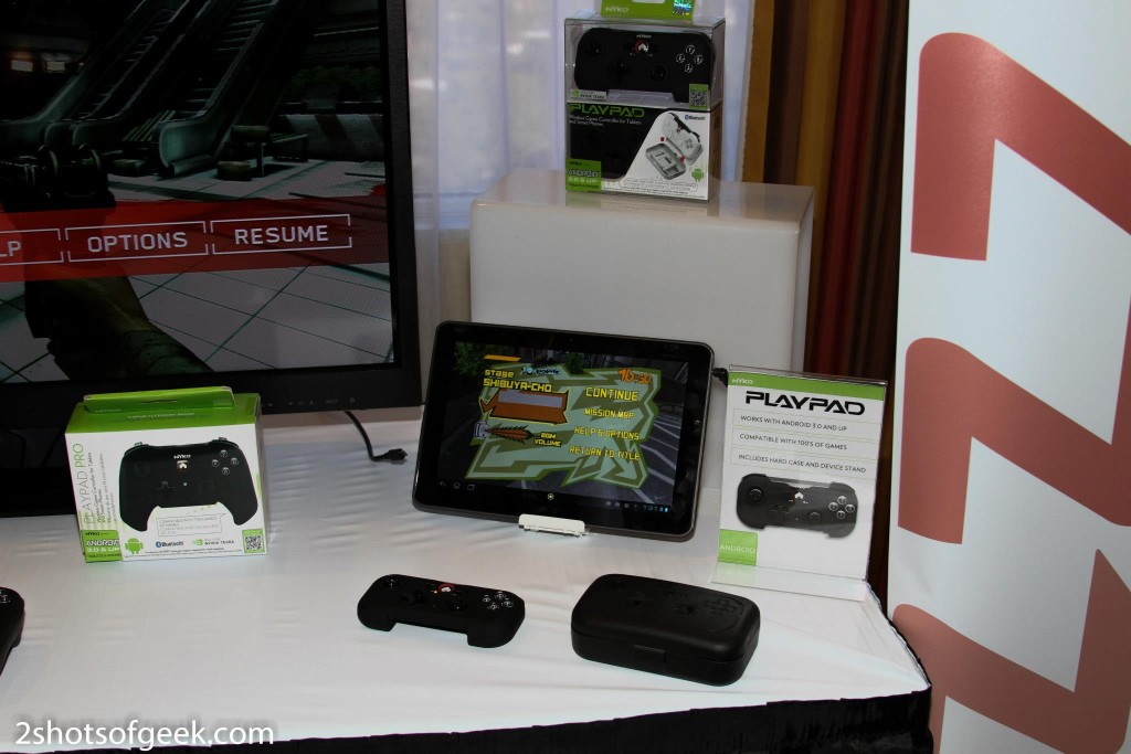 Nyko CES 2013 Android Controllers