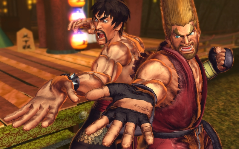 street fighter x tekken paul law