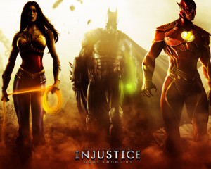 Injustice Batman Wonder Woman Flash