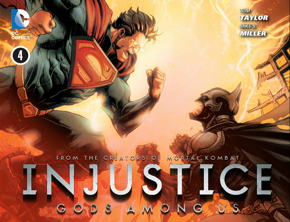 Injustice Comic Cover 2