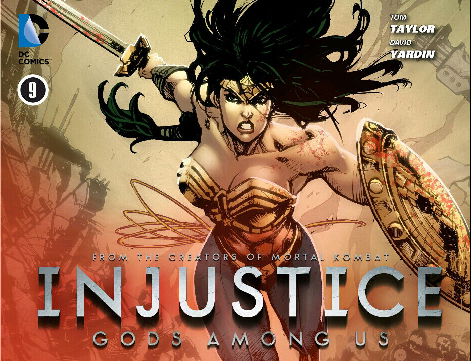 Injustice Comic Cover 3