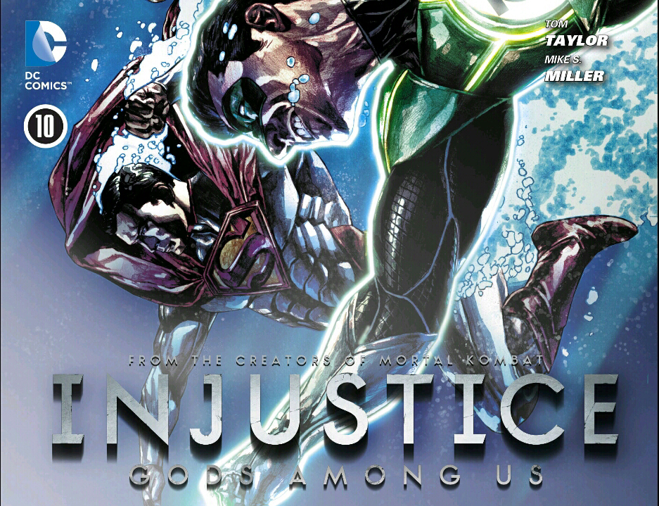 Injustice Comic Cover 4