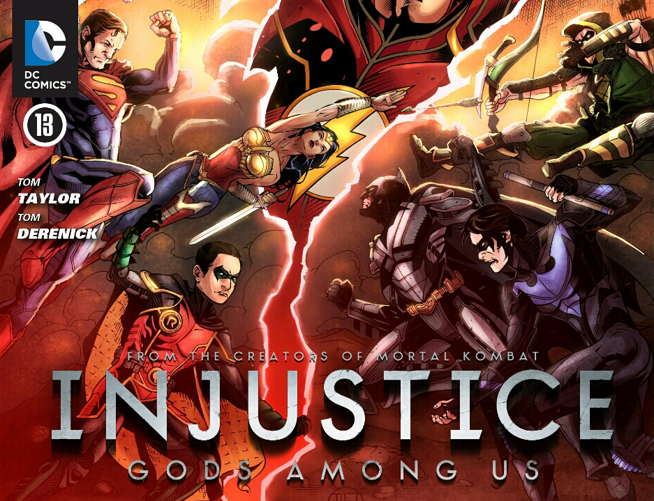 Injustice Comic Cover 5