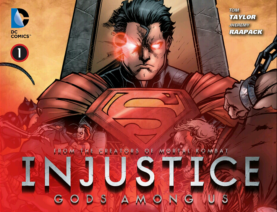 Injustice Cover 1