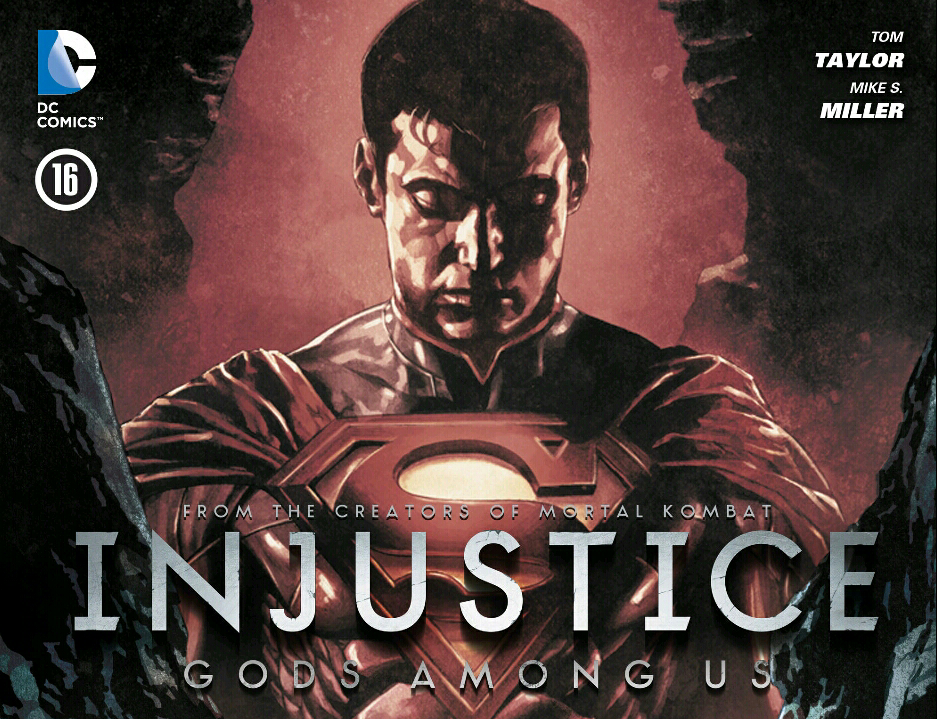 Injustice Comic Cover 6