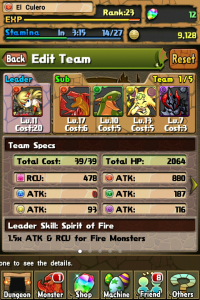 Puzzle and Dragons Team