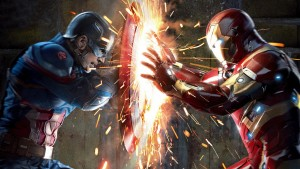 Civil War Comic Cover